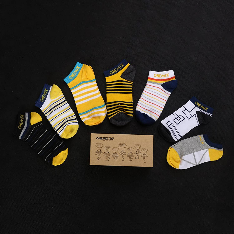 Onemix calcetines - unisex - Calidad de celodoro - Disponibles en varios colores y tallas de la 35 a la 44(7 Pares) yoatUBM0M