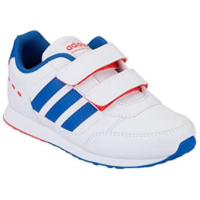 adidas Neo VS Switch CMF C Chaussures Mode Sneakers Enfant Blanc Bleu