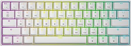 Gk61 Mechanische Gaming Tastatur 61 Tasten Rgb Computer Zubehör