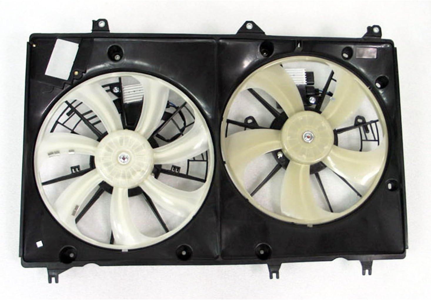 CPP doble radiador y condensador Ventilador to3115178 para 08 – 10 ...