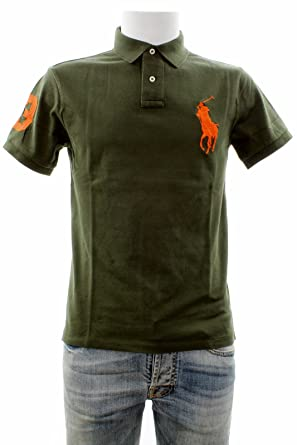 9ff8e408a290 Polo Ralph Lauren 710524117045 Polo Homme Vert L  Amazon.fr  Vêtements et  accessoires