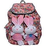Ruff Women's Backpack Handbag ( Multicolor, Grv461)