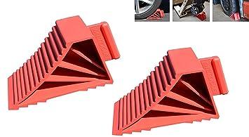 ML herramientas 2 Pack High Grip calces de rueda hecho en EE. UU.