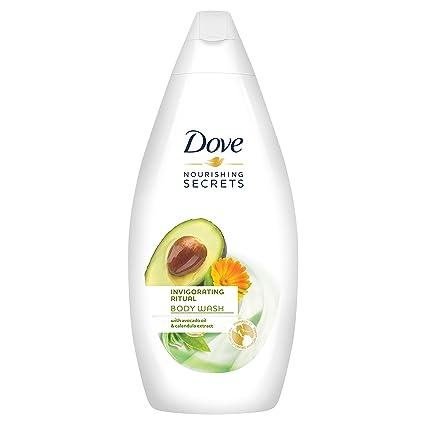 Dove Aceite de Aguacate y Extracto de Caléndula Gel de Ducha - 500 ml