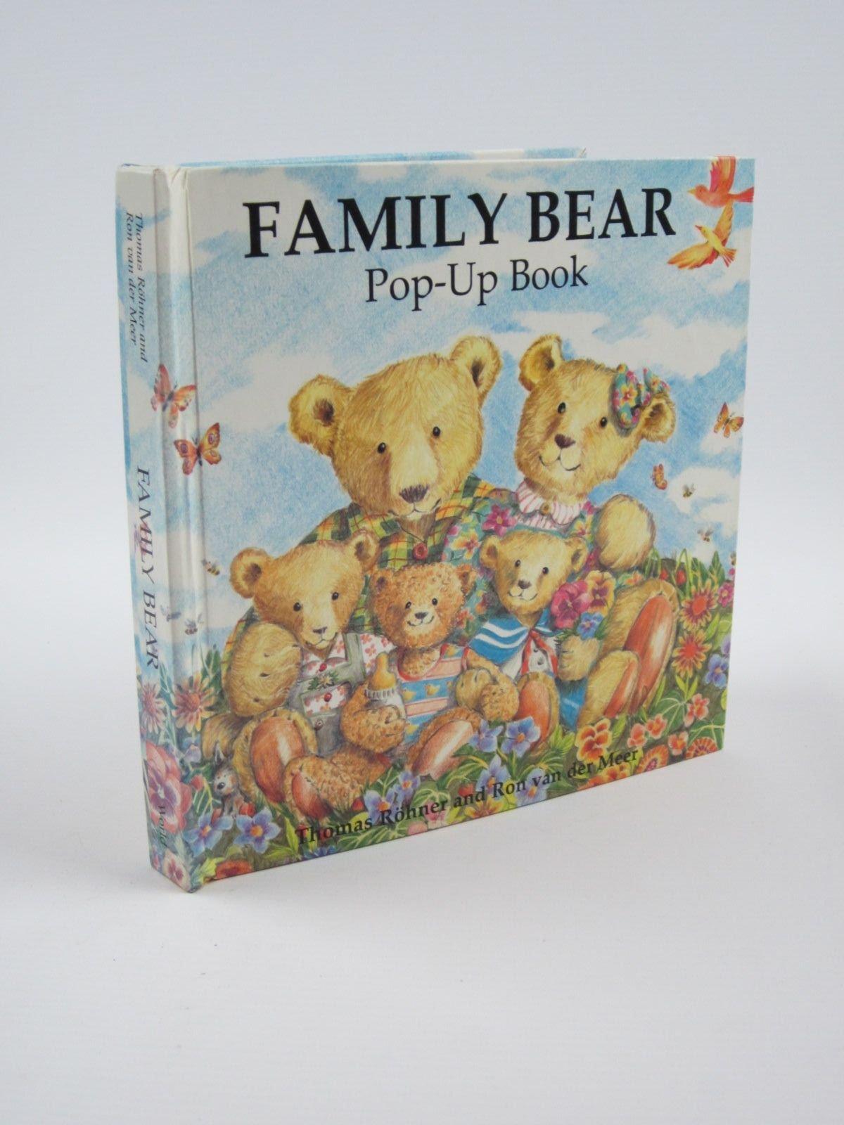 Family Bear Pop-up Book: Amazon.es: Meer, Mara Van Der, van ...
