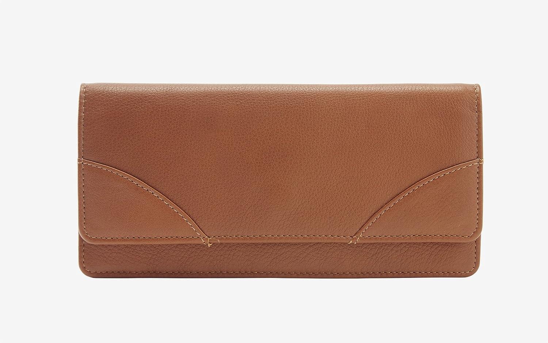 Amazon.com: Tusk Donington Napa Gusseted Clutch Wallet ...