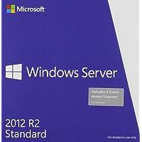 Microsoft P73-05970 Windows Server Standard 2012 R2 64 bit English Ae DVD 5 CLT