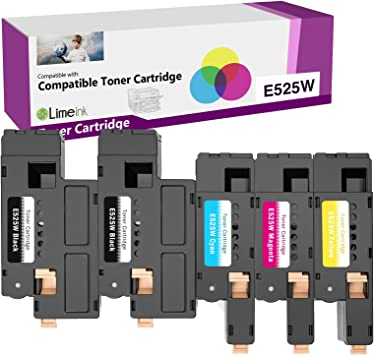 Dell Black 2000 Page YieldToner Cartridge for E525W Color Multifunction Printer H3M8P