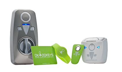 OKIDOKEYS Classic ACCESS-PACK Bluetooth 4 0 Smart-Lock System Compatible  with Smartphones, Cell Phones, and RFID Tags