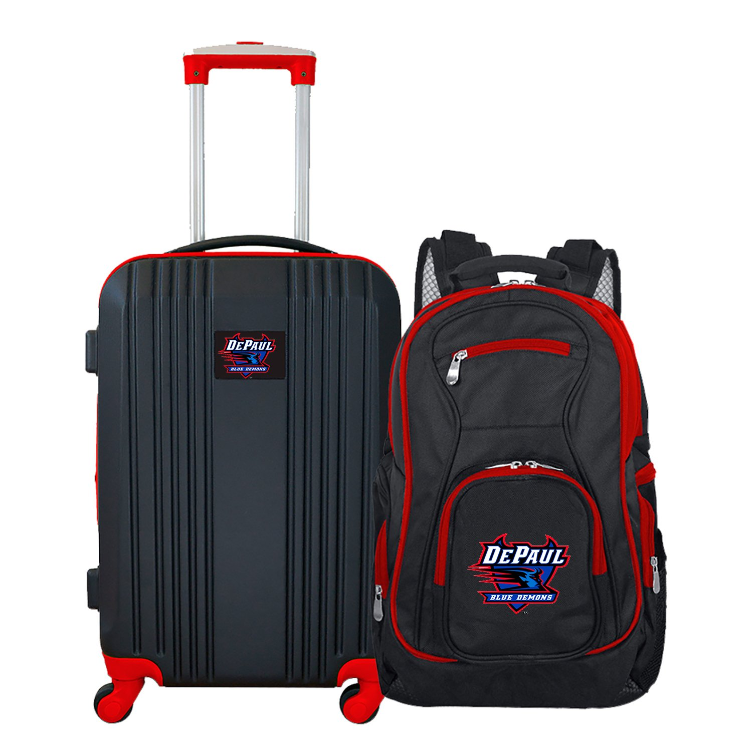 NCAA DePaul Blue Demons 2-Piece Luggage Set