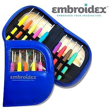 Embroidex Ergonomic Crochet Hooks