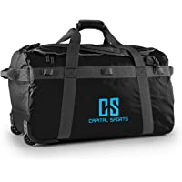 Capital Sports Travel Sports Bag Duffle Backpack Waterproof