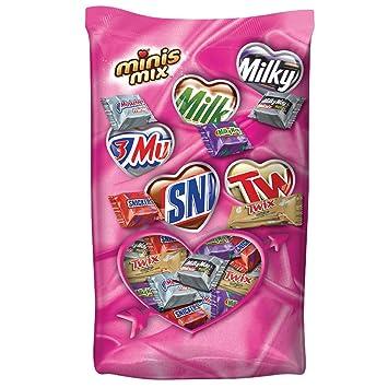 Amazon.com : MARS Chocolate Valentine\'s Minis Size Candy Variety ...