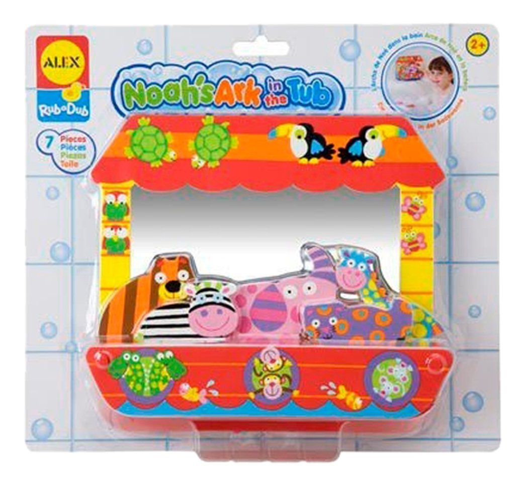 amazon com alex toys rub a dub noah u0027s ark toys u0026 games