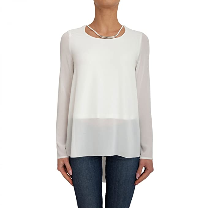By Donna it 72g481 Bianco Blusa Marciano Amazon 8336zgmb017 Guess 5wPFqF