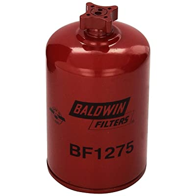 Baldwin BF1275 Heavy Duty Diesel Fuel Spin-On Filter (Pack of 2): Automotive