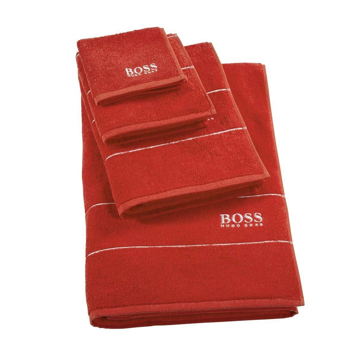 Plain Poppy Face Towel * Towels 30x30cm