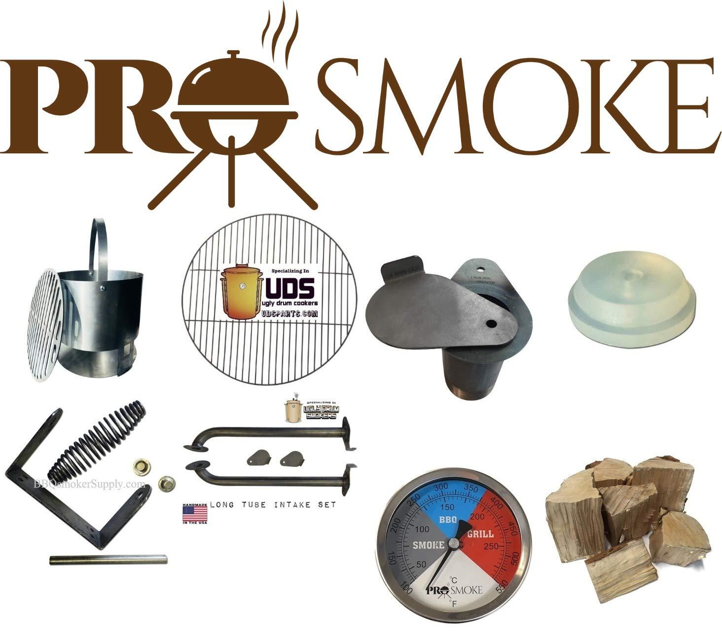 Kit Profesional de Fumador de Tambor Feo (UDS), Pro Smoke BBQ ...