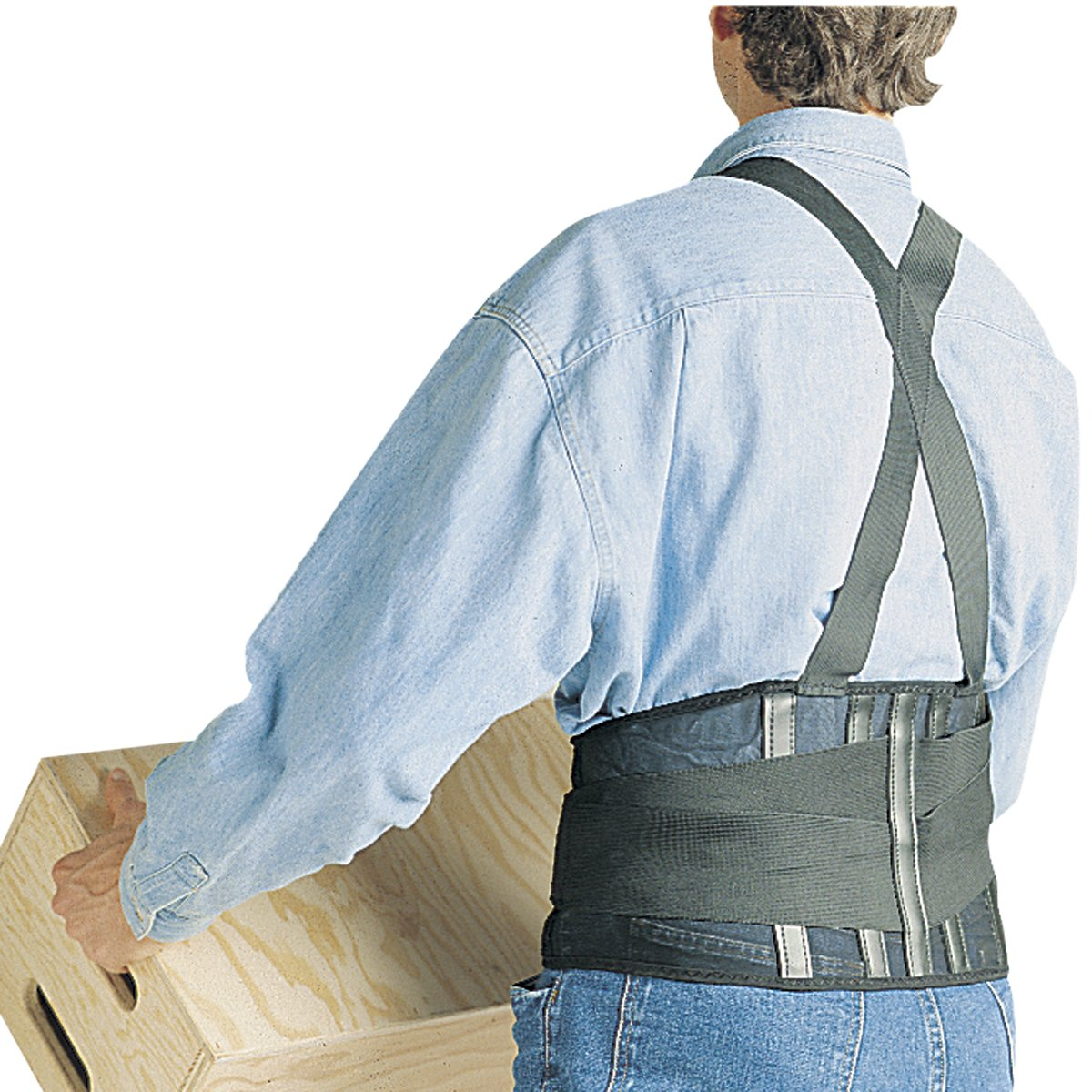 SAS Safety 7162 32-38 Inch Deluxe Back Support Belt, Medium by SAS Safety (Image #3)
