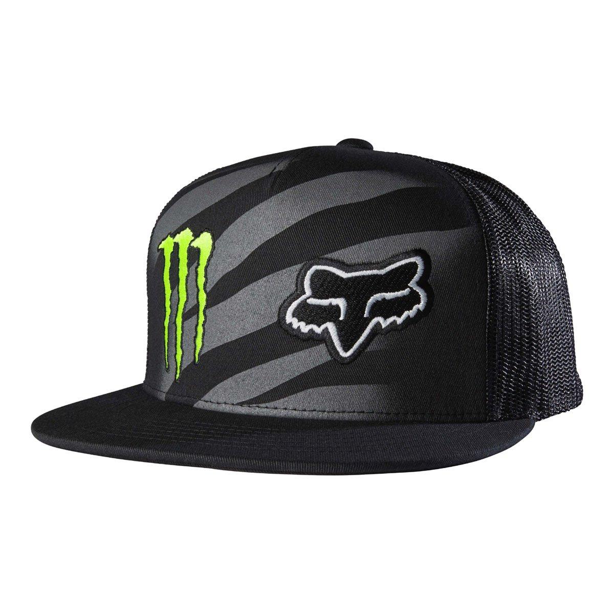 Amazon.com  Fox Racing Mens Monster Zebra Snapback Adjustable Hat One Size  Black  Sports   Outdoors ff1743ad09e6
