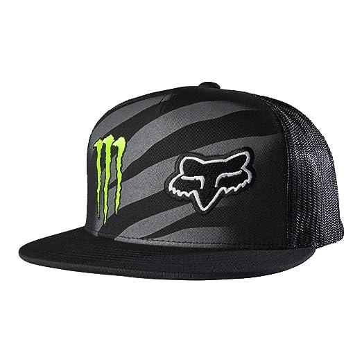 Amazon.com  Fox Racing Mens Monster Zebra Snapback Adjustable Hat ... cf51a2a0640b