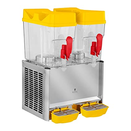 Royal Catering Dispensador De Bebidas Frías RCSD-36C (2 x 18 L, 280