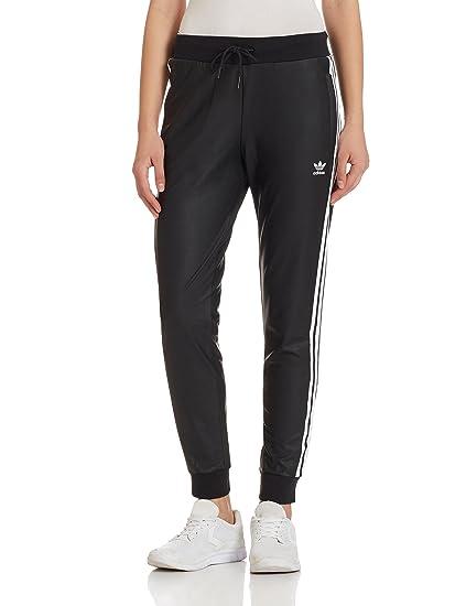 adidas Pantalon Regular Noir Mat Femme  Amazon.fr  Vêtements et accessoires 88de15b63ef