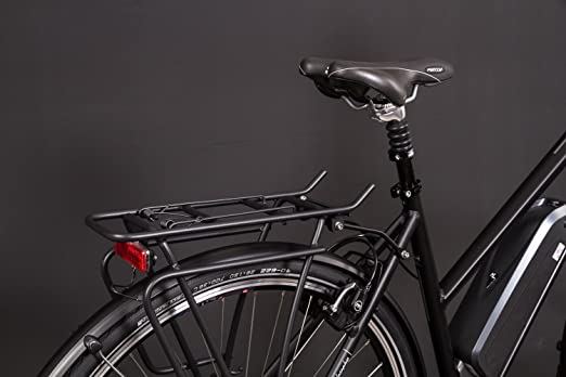 28 pulgadas Aluminio vaun Elena bicicleta de trekking E-Bike eléctrico Pedelec Motor Central Mujer 36 V Negro: Amazon.es: Deportes y aire libre