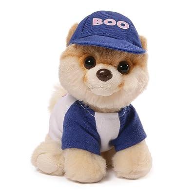 "GUND Itty Bitty Boo #031 Baseball Dog Stuffed Animal Plush, 5"": Toys & Games"