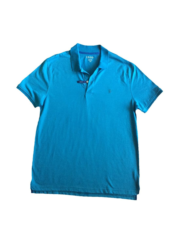 Izod Mens Solid Interlock Polo Shirt At Amazon Mens Clothing Store
