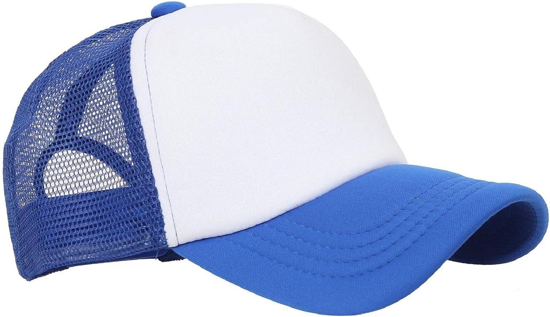 Aye Hes Mine Mesh Baseball Cap Girls Adjustable Trucker Hat Sky Blue