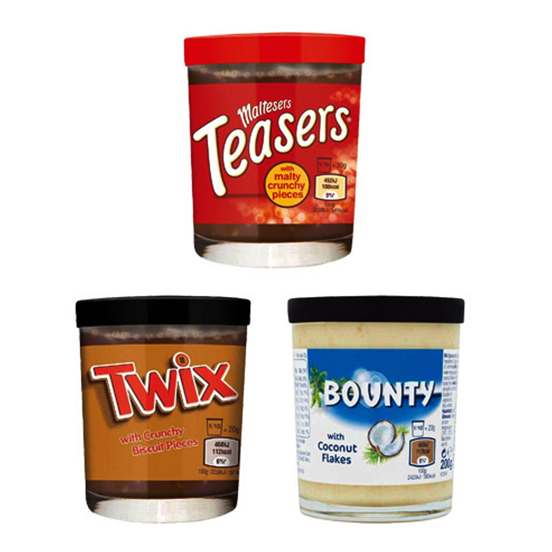 Bounty Pasta para Barrar de Leche Con Copos de Coco - Paquete de 6 x 200 gr - Total: 1200 gr: Amazon.es: Alimentación y bebidas