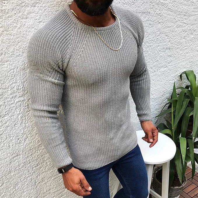 ASILAX& Luxury Warm O Neck Knitwear Men Knitted Sweaters Autumn ...