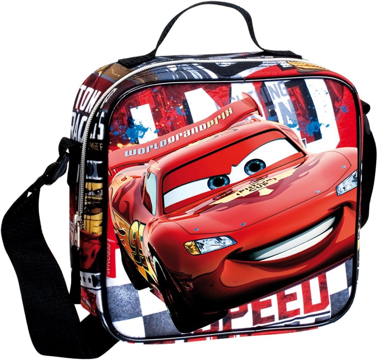 Disney Pixar Cars accelerazione Borsa Termica per Il Pranzo Rosso