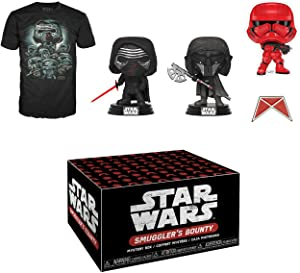 Funko Star Wars Smuggler's Bounty Subscription Box, Forces of Darkness, October 2019, XXL T-Shirt, Multicolor