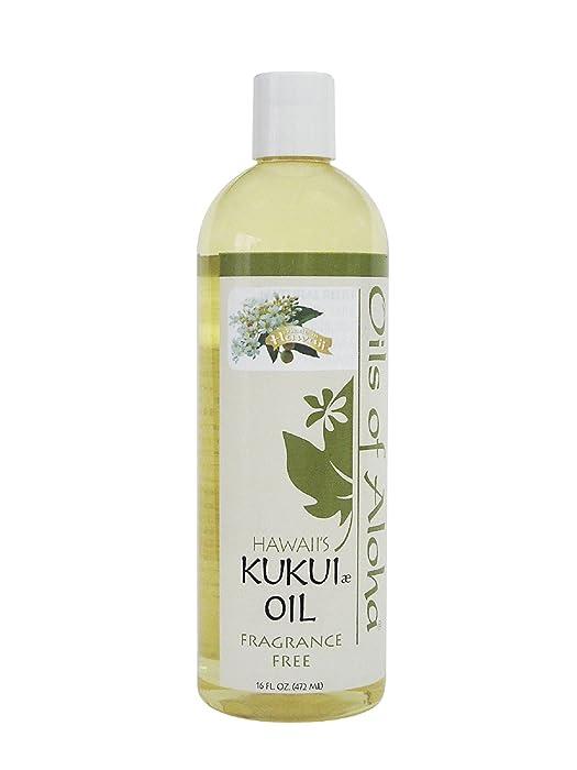 Hawaiian Kukui Nut Oil by Oils of Aloha - 16oz.