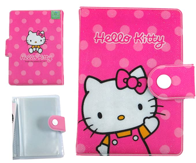 b0c12cc297 Image Unavailable. Image not available for. Color  Pink Hello Kitty Photo  Wallet ...