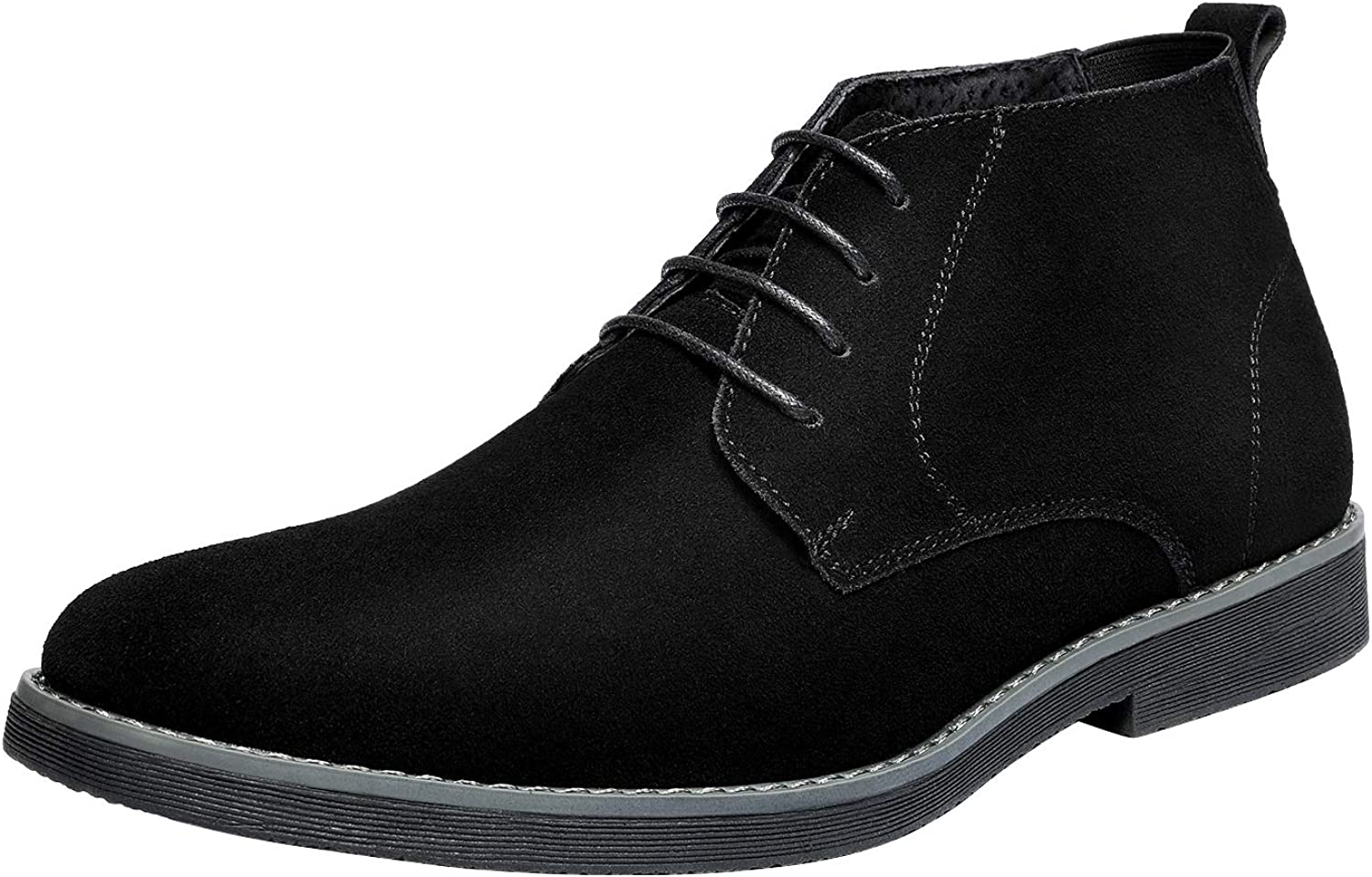 Bruno Marc Men's Classic Original Suede Leather Desert Storm Chukka Boots