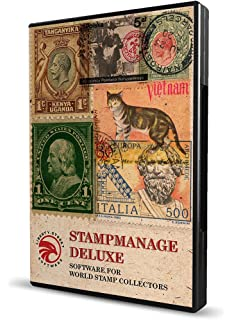 Amazon powerpoint world map ultimate template kit stamp collecting software stampmanage deluxe 2017 with scott catalog numbers inventory value your gumiabroncs Images