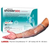 picc line cover for showers 25 pack large waterproof disposable elbow