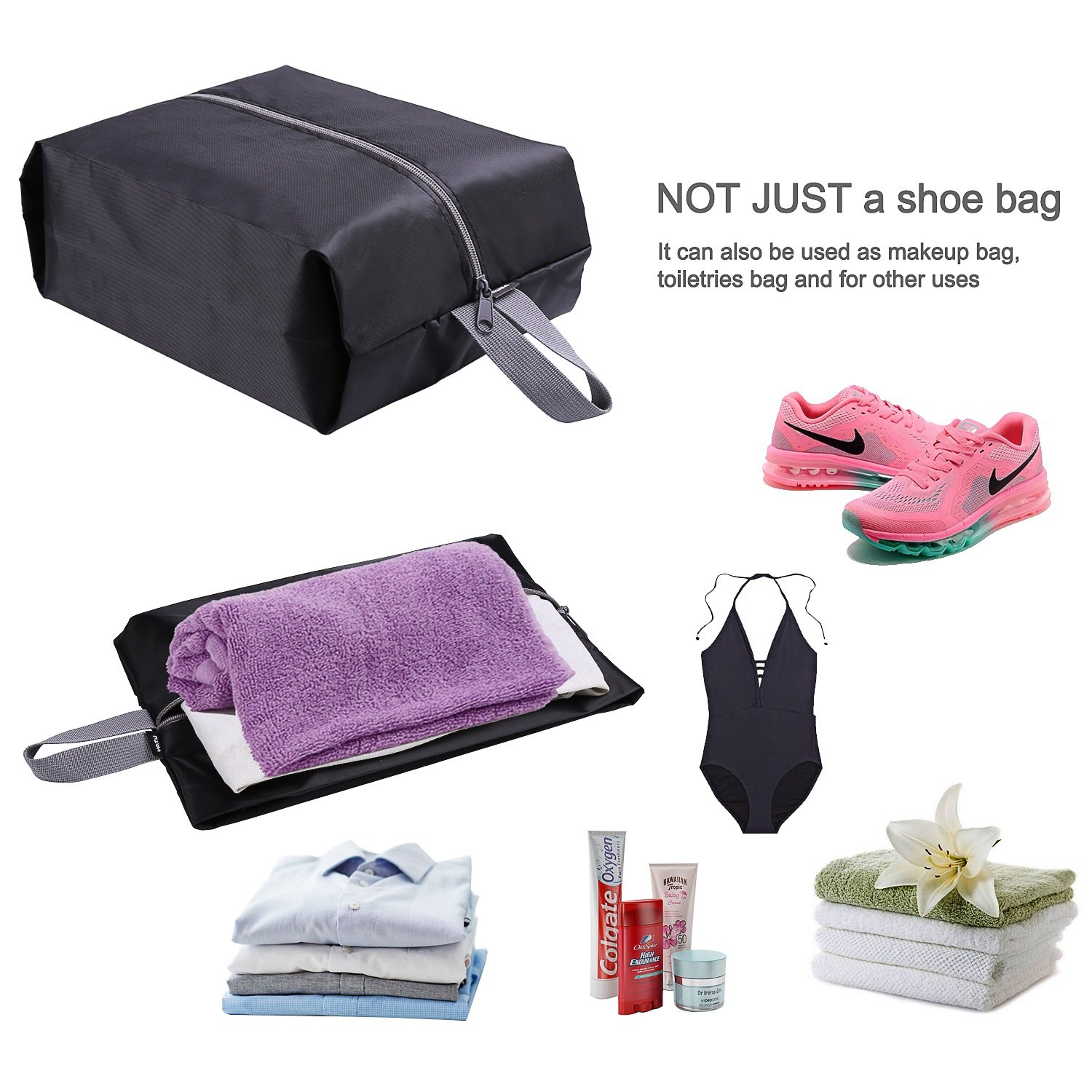 YAMIU Travel Shoe Bags Set for Men and Women