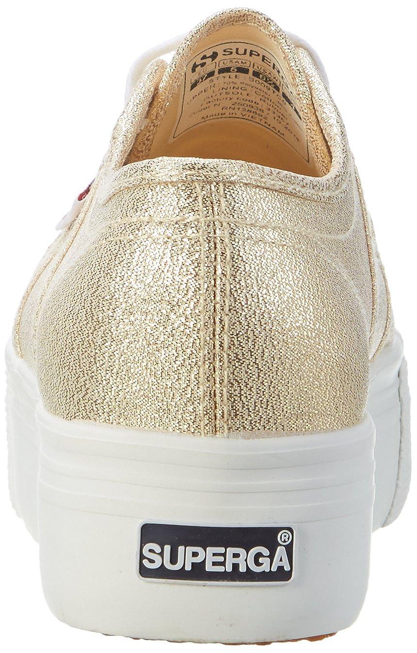 Superga Damen 2790 2790 2790 Lamew Sneaker Gold b68864