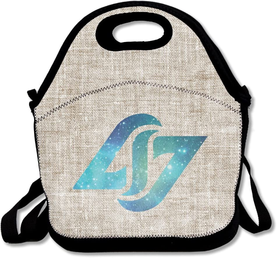Copdsa Lol Counter Logic Gaming Esport Team Insulated Personalized Tote Lunch Food Bag Black Amazon Co Uk Kitchen Home