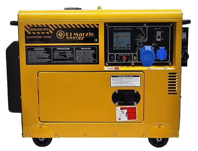Generador de corriente de 4,5kw con ATS - grupo electrógeno ...