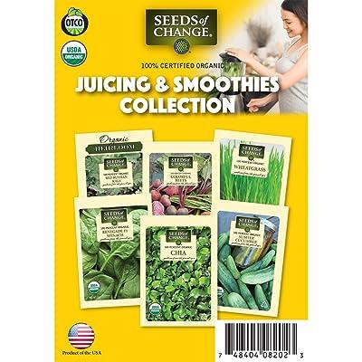 Seeds Of Change 60-08202 Juicing & Smoothie Garden Seeds: Garden & Outdoor