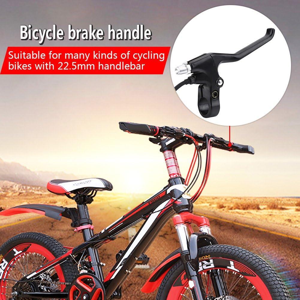 1 Paar 2 Dr/ähte Aluminiumlegierung Links /& Rechts E-Bike Bremshebel Set Fahrrad elektrische Bremshebel Ersatzteile Sorand Fahrradbremshebel stabil//langlebig