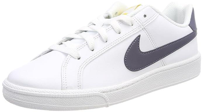 Nike Court Royale Sneakers Herren Weiß mit grauen Streifen