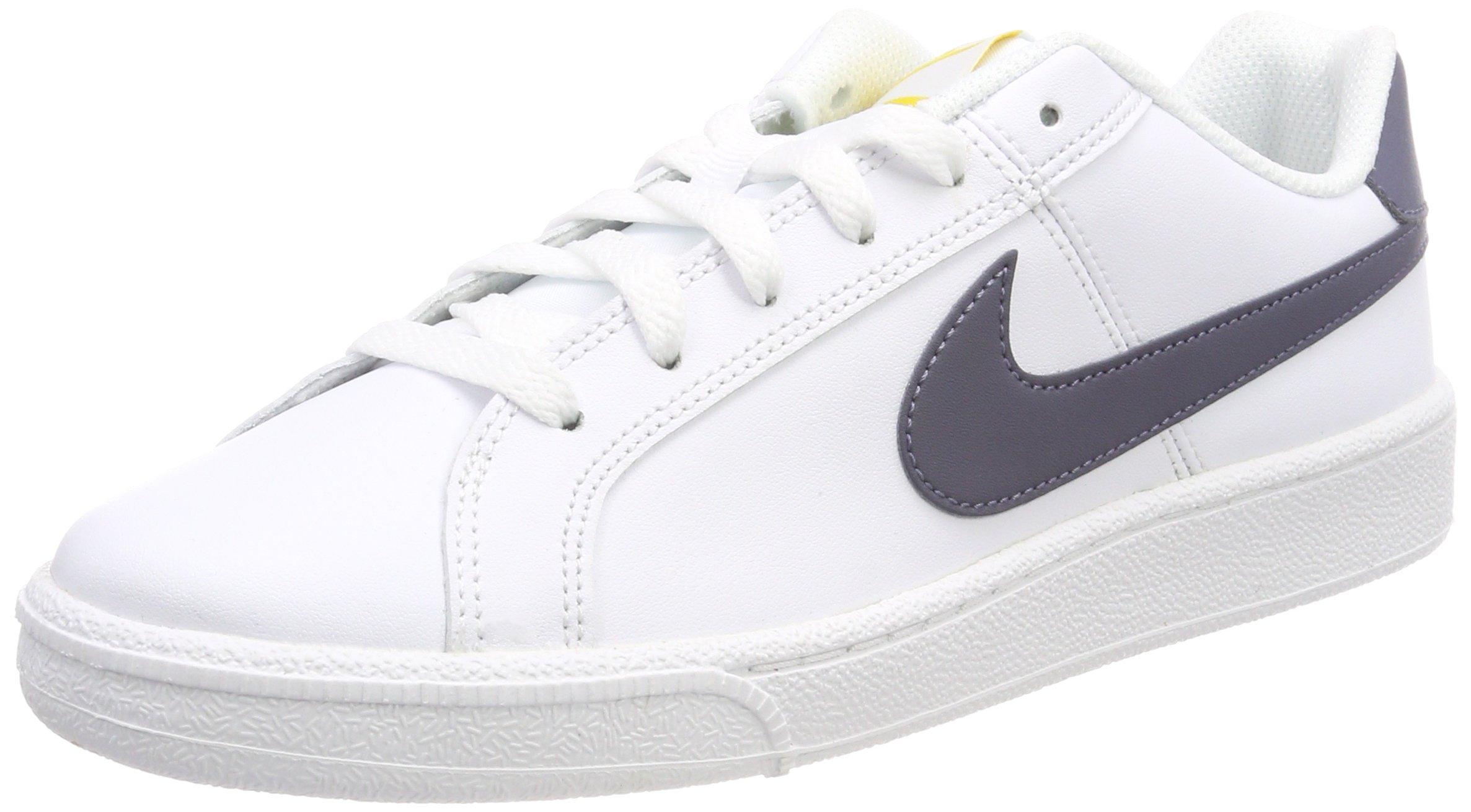 b12ab7c67edd3 Galleon - Nike Men''s Court Royale Trainers, (White/Light Carbon-Vivid  Sulfur 105), 10 UK 45 EU