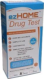 ezHOME Instant Drug Test - THC, COC, MET, AMP, OPI -