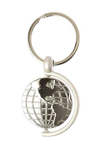 World globe keychain rotating earth key chain amazon bags world globe keychain rotating earth key chain gumiabroncs Gallery